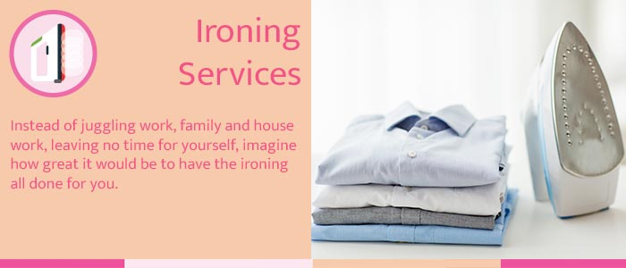 ironing services Perth